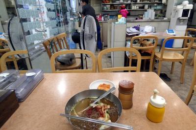 お盆休みの釜山3泊 朝の西面(ソミョン)の散歩道 ナヌリ忠武(チュンム)キンパッの朝食