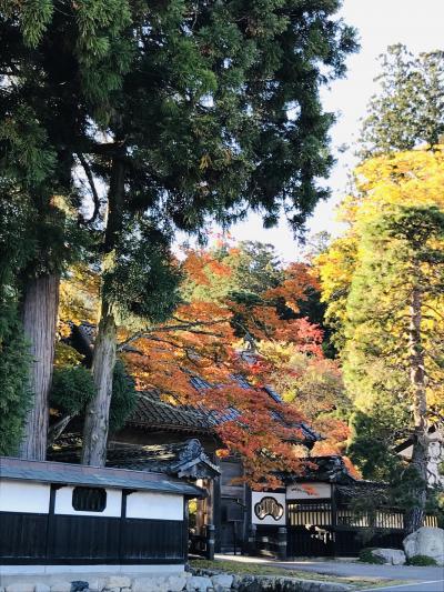 信州りんご狩りと、安曇野で秋色さがし…【2019.11】