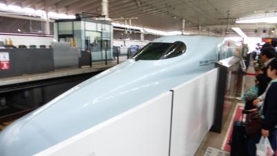 新ホテル&新商業施設目的 熊本市1泊2日旅【N700系新幹線さくら(熊本~博多)乗車編】