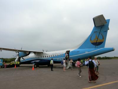 黄金の国ミャンマー① ハノイ経由でヤンゴン、国内線でニャウンウーへ