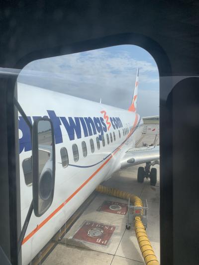 変わった配列?!チェコ航空ビジネスクラスでプラハへ。