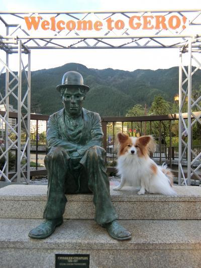 ③下呂から高山・ひらゆの森→東京へ_秋の3連休パピヨンみっくの犬旅