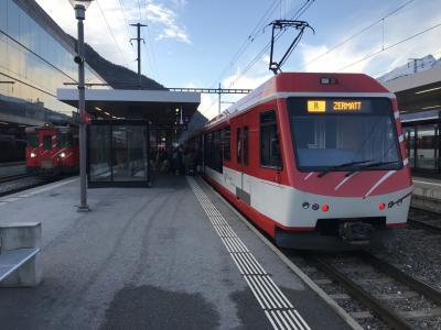 鉄道で行くスイスと ウィーン・ブラチスラヴァ・プラハ 1日目
