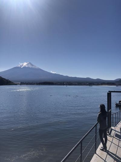 富士山と温泉とゴルフと先輩に会いに行く山梨旅行