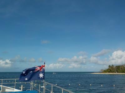グレートバリアリーフですよね、グリーン島。ー初豪州。ケアンズへの旅②-