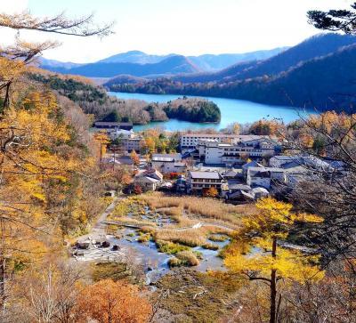 団塊夫婦の2019年日本紅葉巡りドライブー(1)台風の影響大・奥日光~華厳の滝~日塩もみじライン