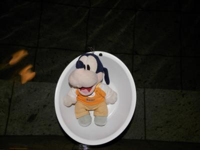 グーちゃん、赤湯温泉へ行く!(もっちぃ宮内駅長との出会い!編)