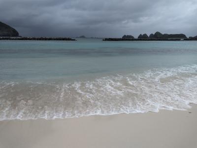 今年も行きました!阿嘉島へ~2日目 台風20号接近!