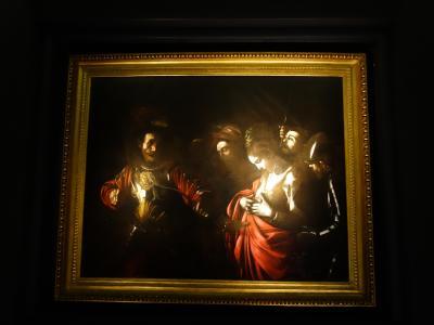 カラヴァッジョ最後期の作品を見る。魂の深さに感動する。
