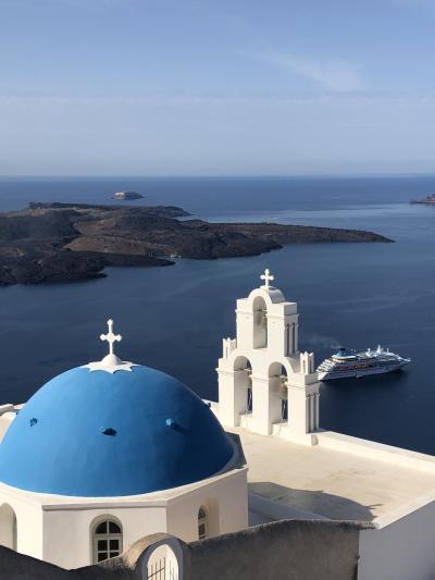 ギリシャの旅②サントリーニ島