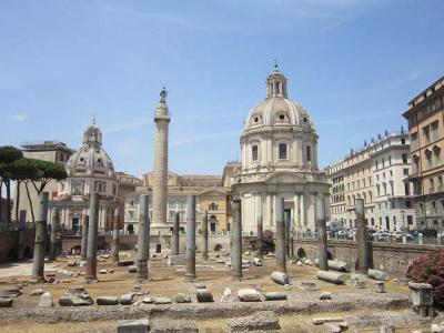 2019、シャモニー、サースフェーで山歩き、ちょっとイタリアで街歩き(その14・ローマへそして帰国)