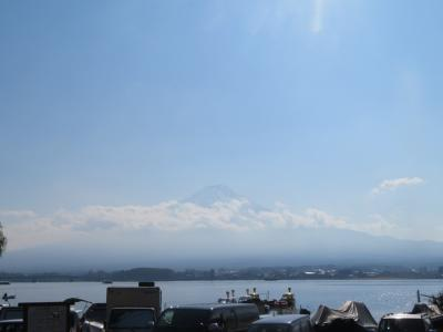 富士山と河口湖、山中湖へ紅葉狩り