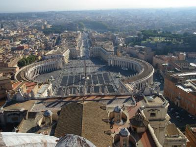 2回目だけどほぼ初めてのイタリア6 ローマ クーポラに上ろう&帰国
