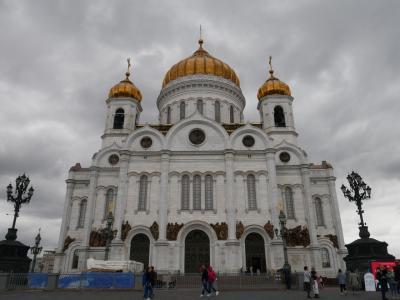 ちょっと早めの夏休みでロシア旅行 その13 大混雑のプーシキン美術館と赤の広場のイルミネーション