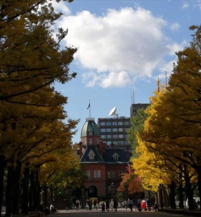 秋の札幌、釧路①