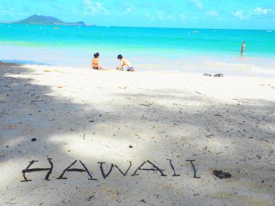 ★15回目のハワイは新メンバーで楽しく♪2日目東海岸~ノースショアドライブ【カイルアビーチ&モアナルア・ガーデン】2019★