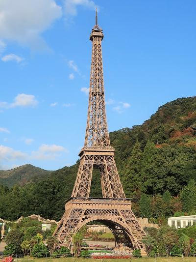 東武ワールドスクウェア-7 フランス・イタリア エッフェル塔/凱旋門 ☆ピサの斜塔/コロッセオ