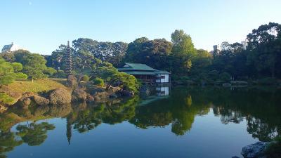 東京見物 (01) 1日目。 清澄白河庭園と深川江戸資料館。