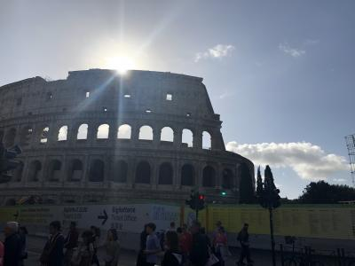 ローマ トレビの泉 MSC地中海クルーズ honeymoon ⑧