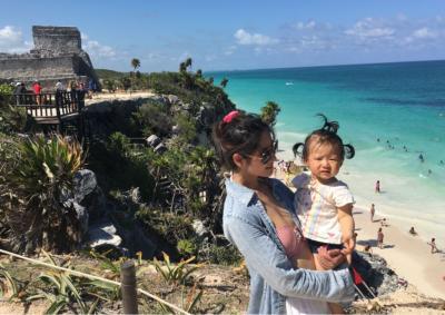 0歳11ヶ月と行くメキシコ・カンクン旅行