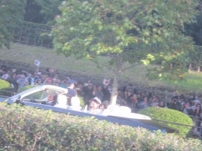 祝賀御列の儀(即位パレード)のついでに赤坂の街をぶらぶらと