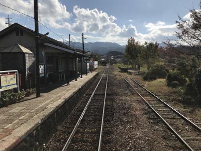 明知鉄道の小旅(岐阜):行ったり来たりのんびりと、のどかな田園山村風景の中の散歩
