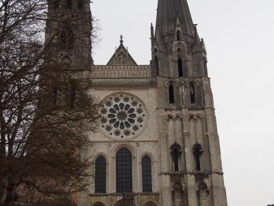 フランスの旅 2018 シャルトル大聖堂とロワール