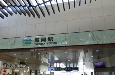 冬の旅 高岡駅へ