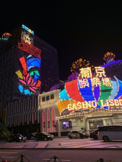 男3人で香港とマカオ観光カジノ三昧の旅