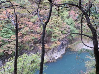 角館・抱返り渓谷(秋田県仙北市)の紅葉