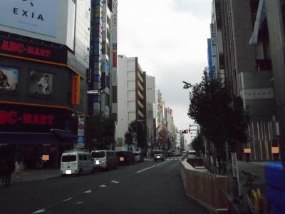 2019年 11月中旬 新宿・・・・・②新宿東口