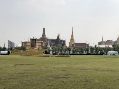 タイ出張 友人知人との会食と最終日に観光