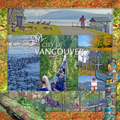 晩秋のバンクーバー、グルメ旅2-スタンレーパーク、キャピラノ吊り橋、エルミタージュ ホテル(L'Hermitage Vancouver)宿泊