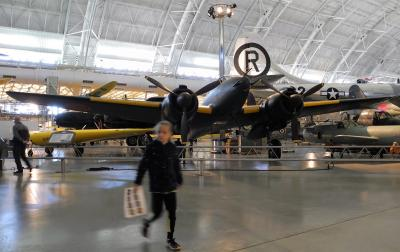航空宇宙博物館別館ウドヴァーヘイジー・センター見学