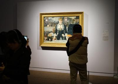 マンゴツリー・ランチブッフェと コートルド美術館展・プレミアム ナイト