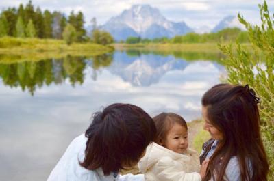 1歳3ヶ月と行く海外旅行【アメリカ・グランドティトン国立公園】