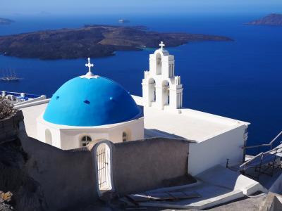 白い街と遺跡の街を満喫!ギリシャの旅 3