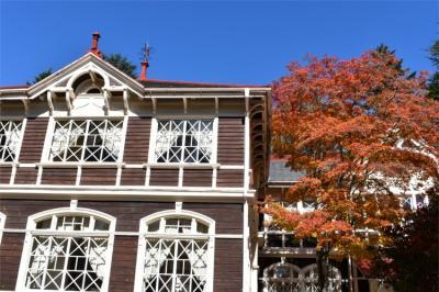 重要文化財旧三笠ホテル 長いお休み前に隅々まで鑑賞してきましたよ。