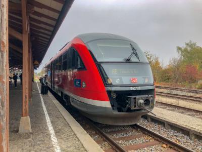 ドイツ鉄道で行く、南ドイツ7日8日の旅