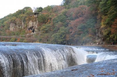 吹割の滝(群馬県沼田市)へ・・・