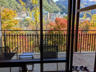 秋の星野リゾート界鬼怒川に泊まるの巻