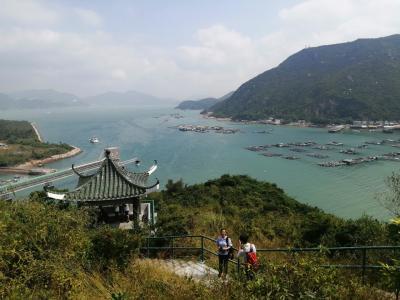 「香港&マカオ 2019秋 vol 1」デモとは無縁そうな のどかな島へ☆ 港から港へ!「南Y島」横断ハイキング