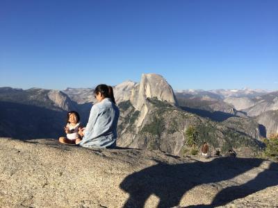 1歳1ヶ月と行くアメリカ・ヨセミテ国立公園