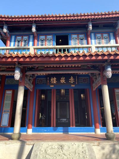 台湾に行ってきました(*´∀`)♪⑭台南~『赤崁楼』と『瑠璃鯨』