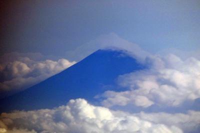 37.お盆休みの釜山3泊 釜山~成田 JALの翼の空の旅