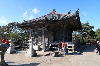 瑞巌寺五大堂(宮城県松島町)へ・・・