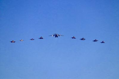2日目[岐阜]岐阜基地の航空祭! 目の前を飛ぶ航空機たち