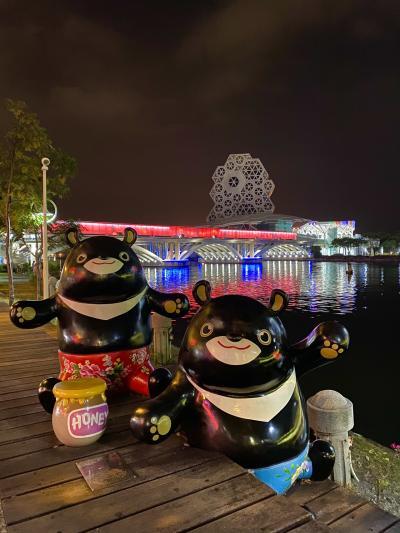 台湾に行ってきました(*´∀`)♪⑰高雄~夜の愛河散歩と高雄国際空港