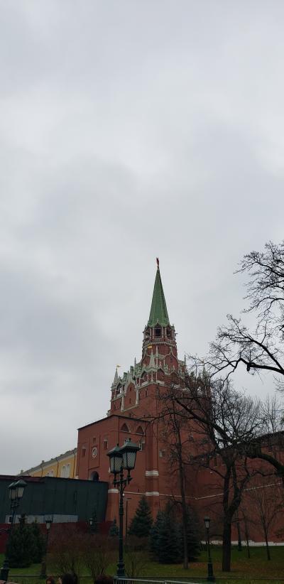 ロシア一人旅(モスクワ観光)