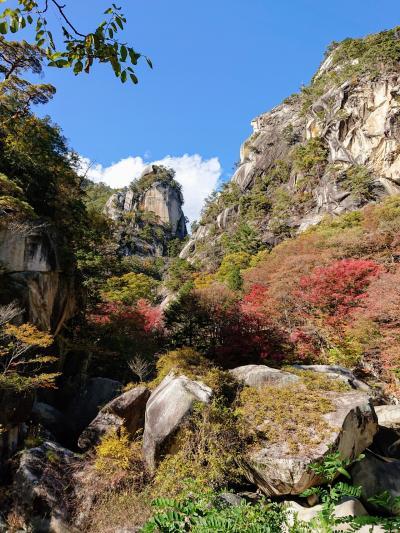 今年も昇仙峡で紅葉狩り